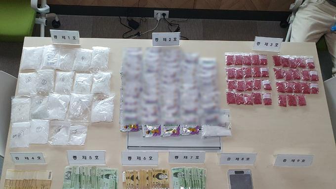 전북청, 마약 관련 태국인 일당 검거